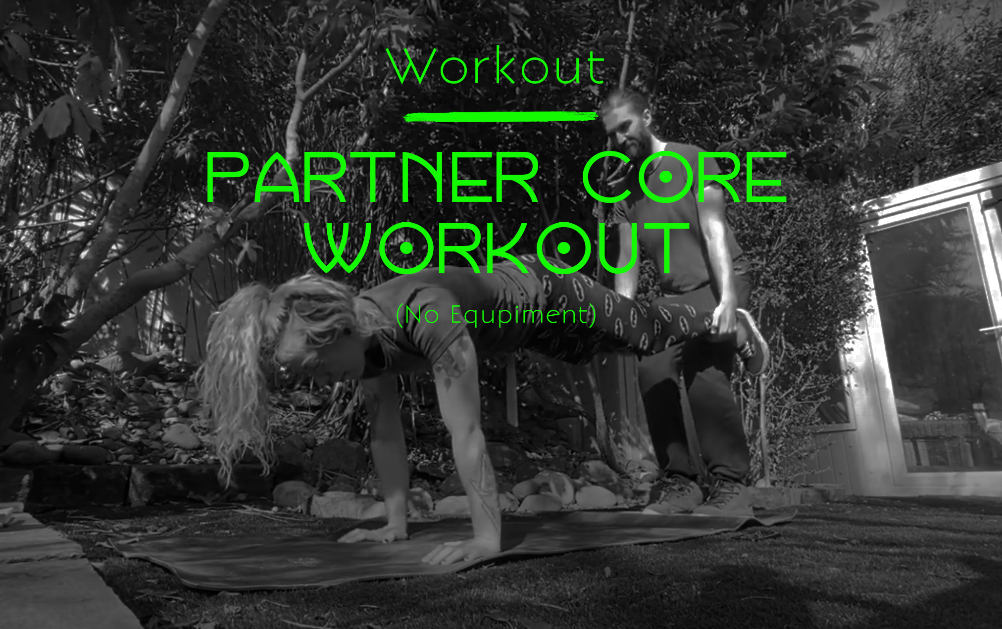 Partner Core Workout