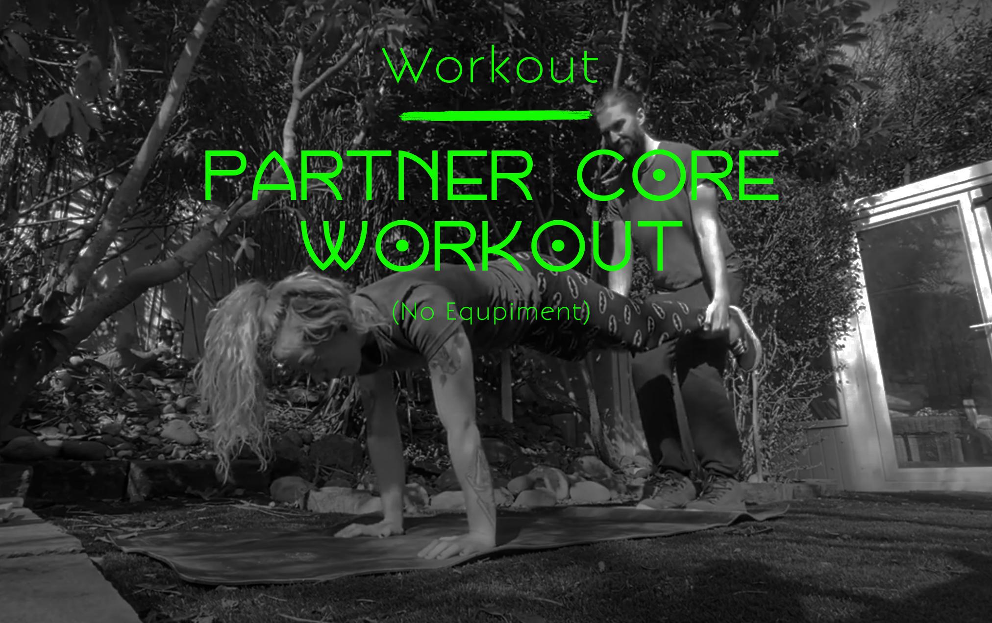 Partner Core Workout